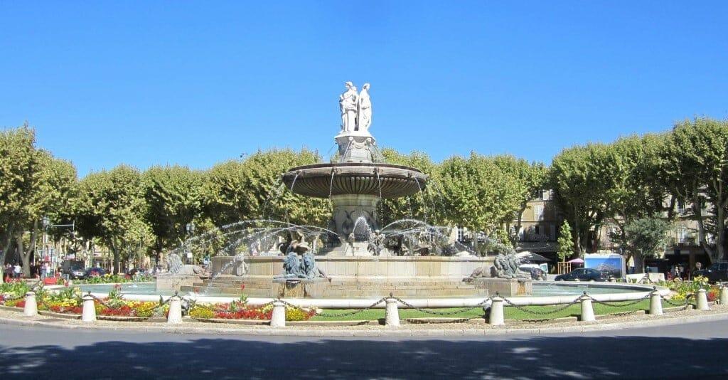 aix en provence fontaine